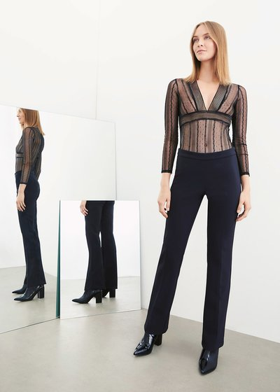 Victoria flared trousers