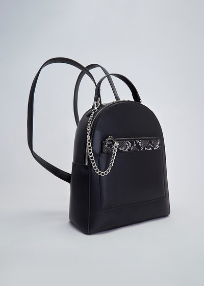 Byron backpack with python purse