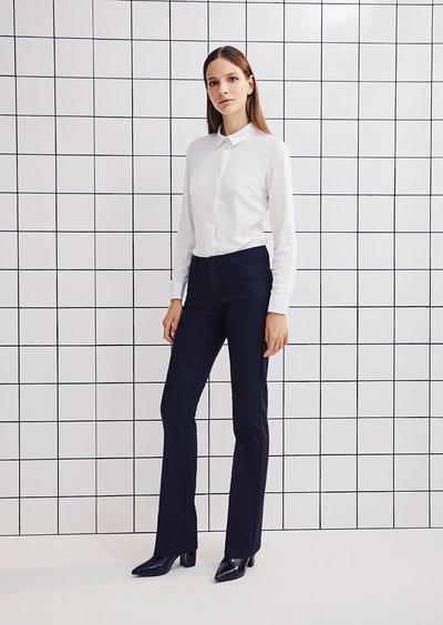 Pantalone Cindy modello zampa