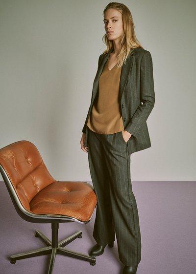 Ashley pinstripe trousers