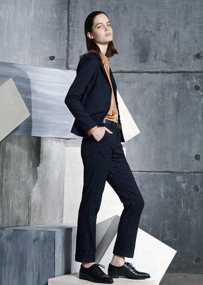 Bella Pinstripe Slim Fit Trousers