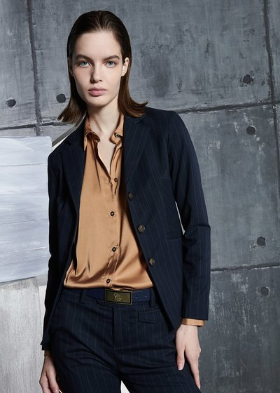 Gabry Pinstripe Jacket