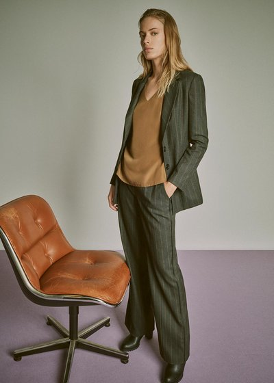 Giasmine pinstripe jacket