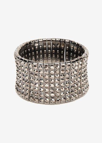 Bindy bracelet with rhinestones