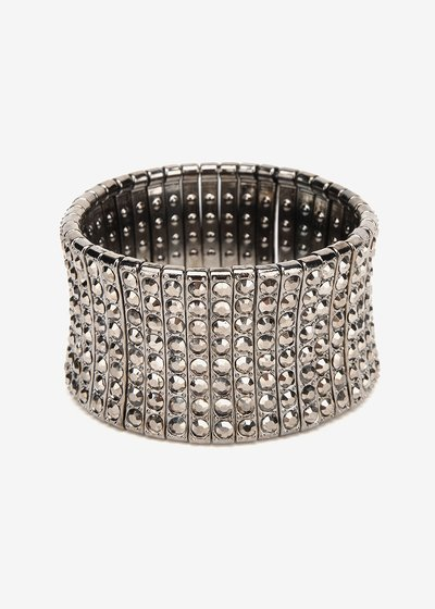 Bindy bracelet with rhinestones