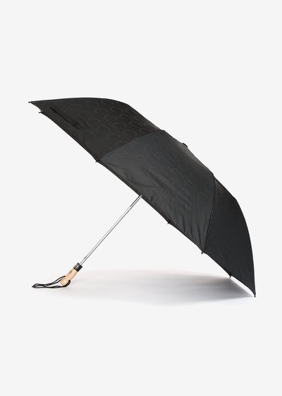 Jacquard Logomania Nylon umbrella