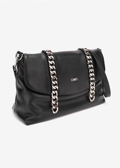 Barbi Folder Model Bag with chains