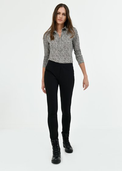 Kelly trousers with elastic waistband