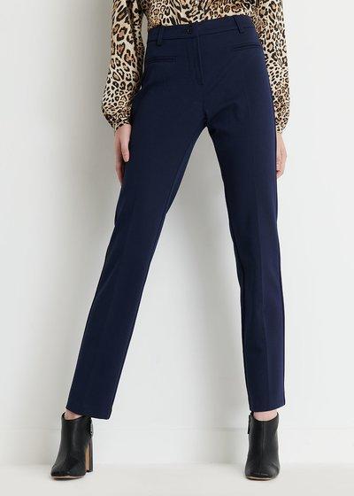 Miranda Slim Trousers in Blue