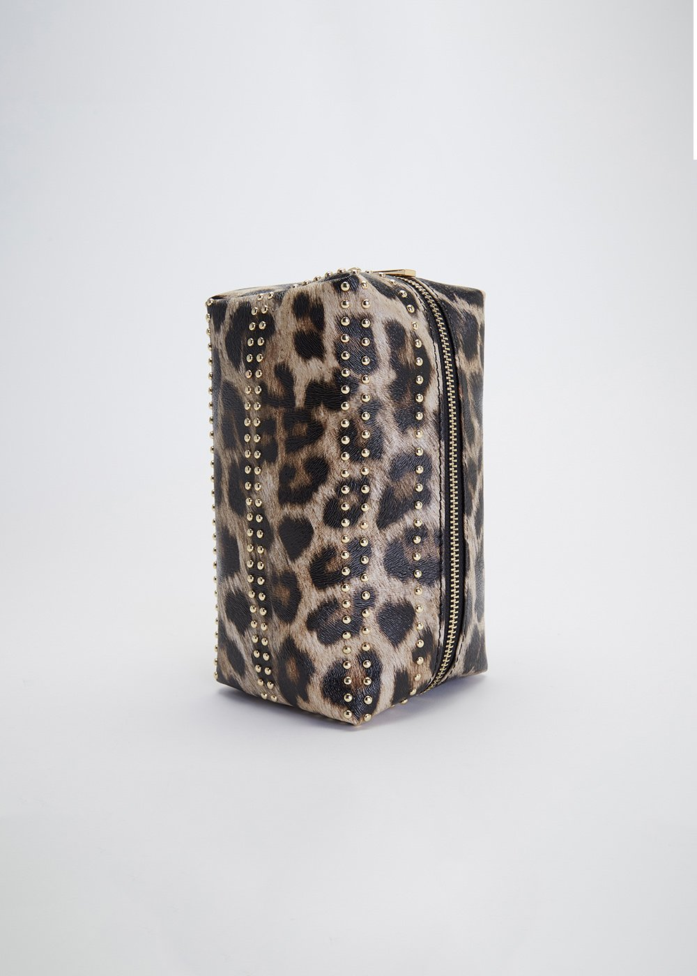 Bend vanity case with spotted print - Safari Animlier - Woman