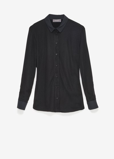 Christie dotted tulle shirt