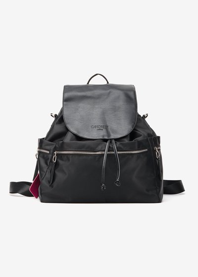 Billy Nylon and Eco Leather Backpack