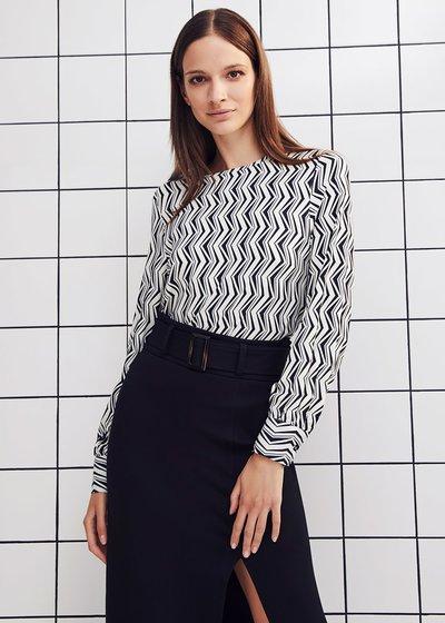 Stefi patterned t-shirt