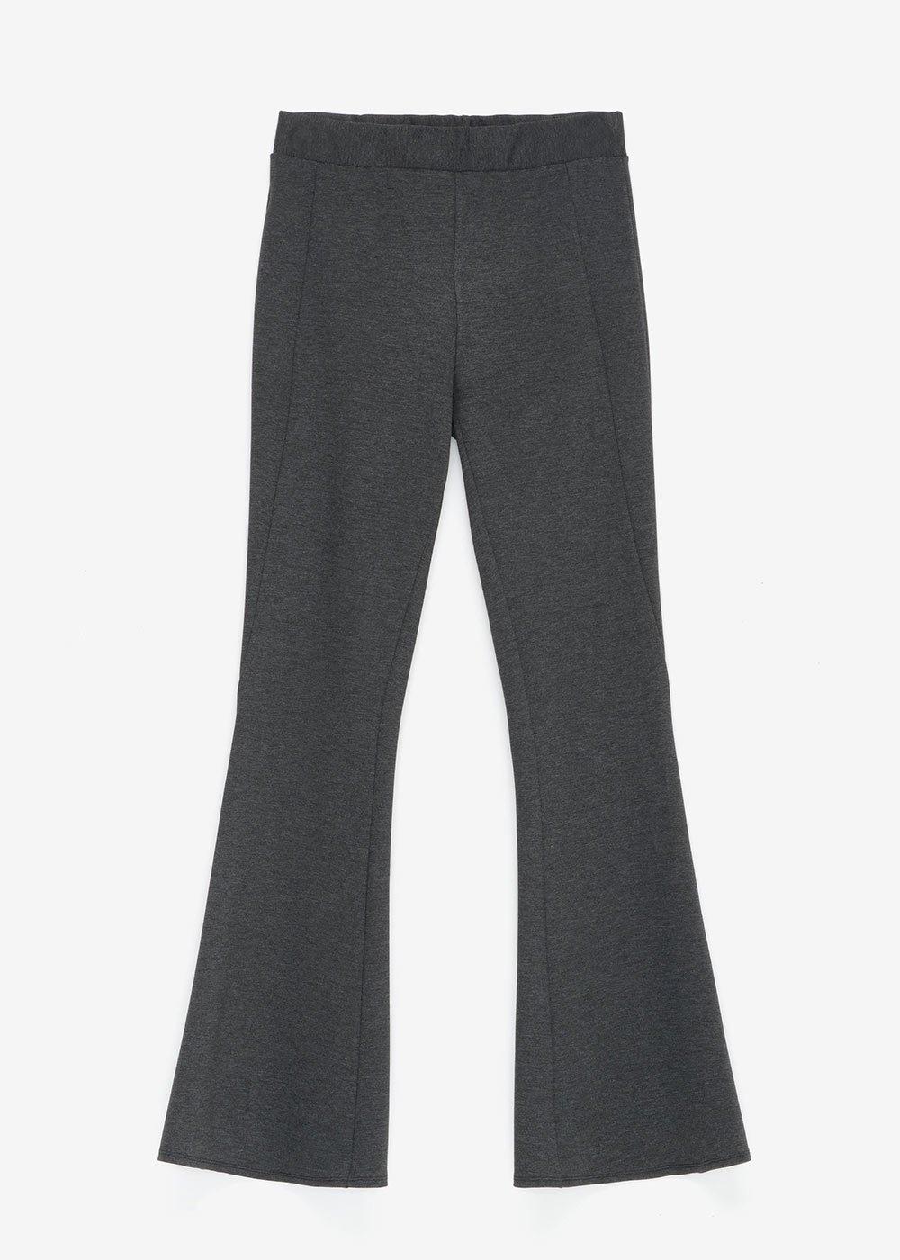 Victoria trousers in Milano stitch - Dark Grey - Woman