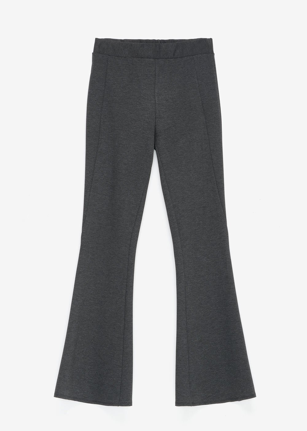 Pantalone Victoria in punto Milano - Dark Grey - Donna