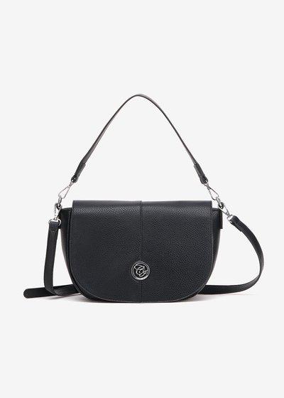 Bammy half-moon shoulder bag