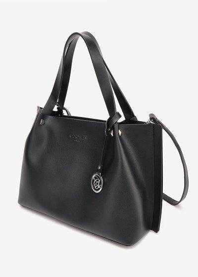 Banny shopping bag with logo pendant