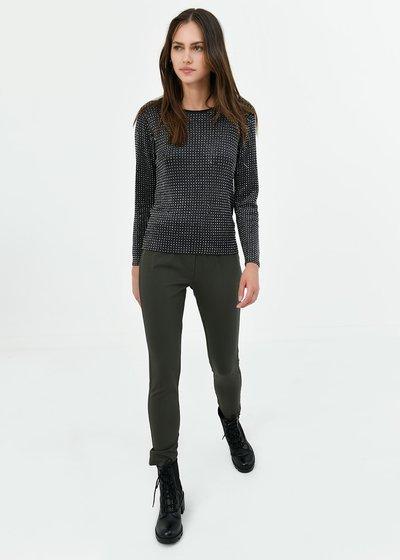 Kelly leggings with elastic waistband
