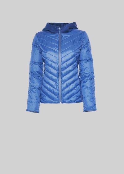 Genny jacket with neoprene hood