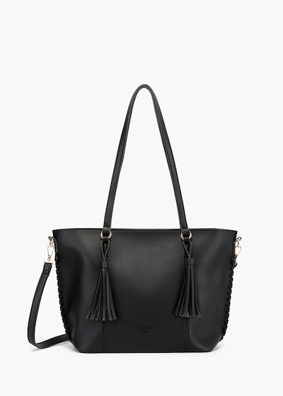 Bjorn shopping bag in unlined eco leather
