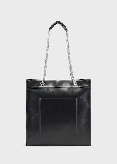 Baisy faux-leather bag