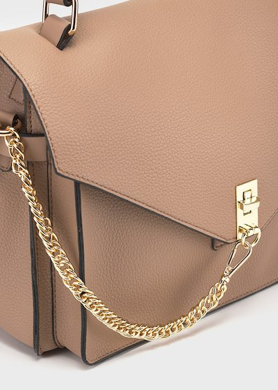 Batty cross body bag with chain