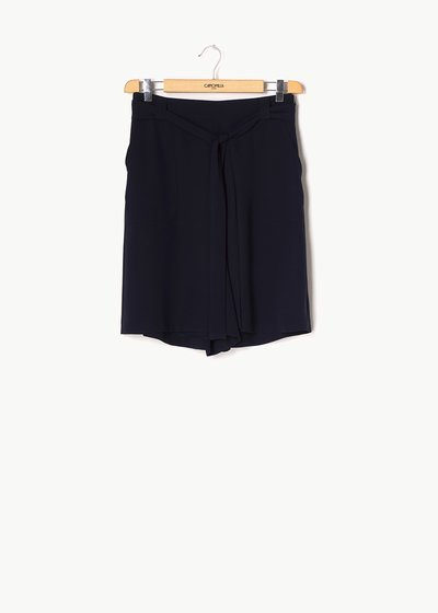 Byron bermuda shorts with waist belt