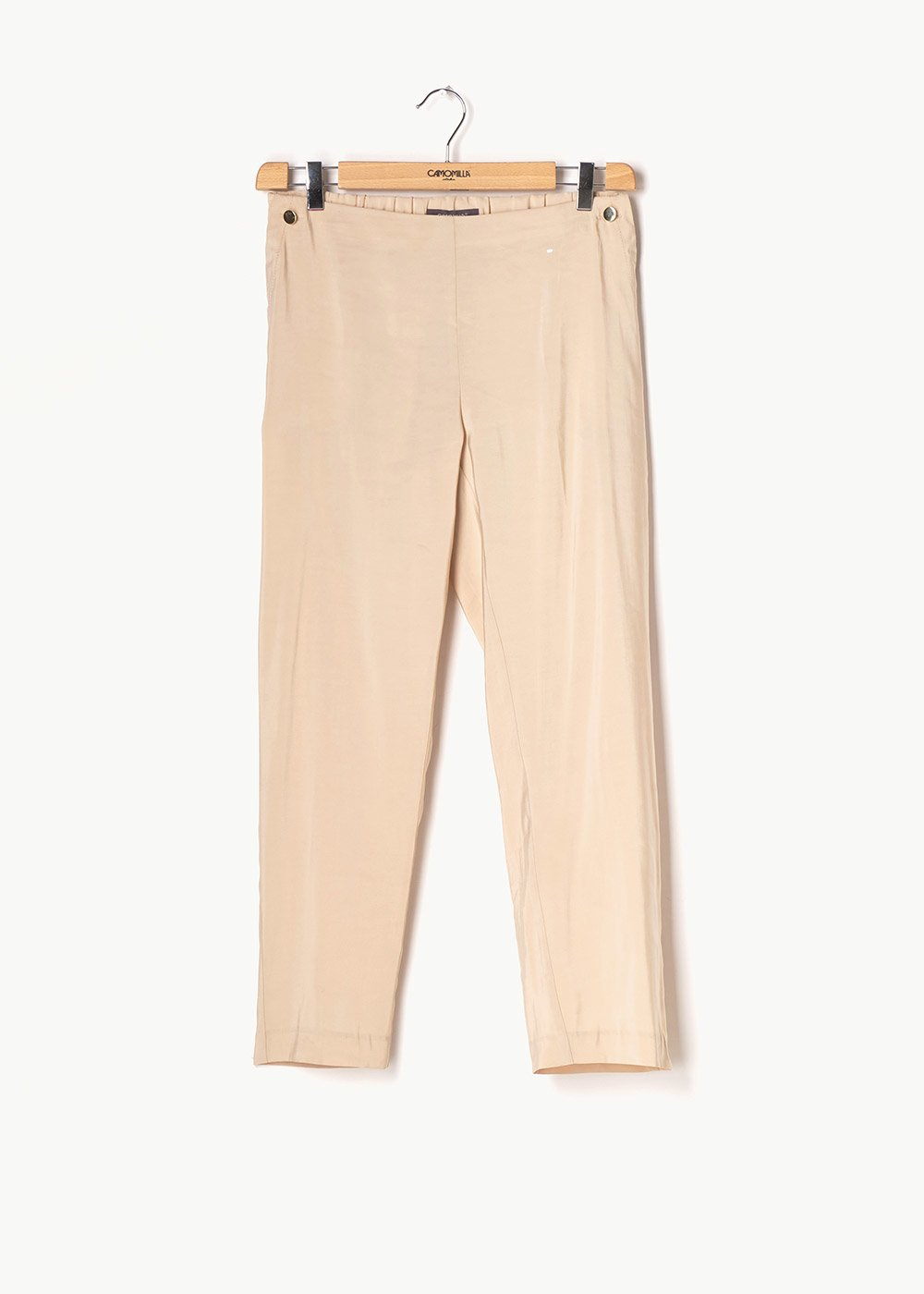 Cara trousers with buttons - Ginger - Woman