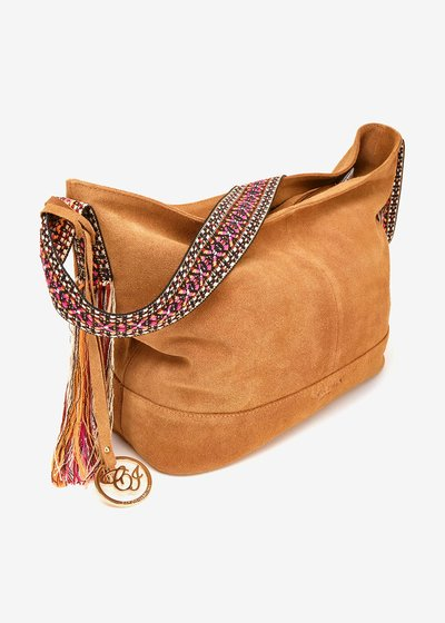 Barley suede bag