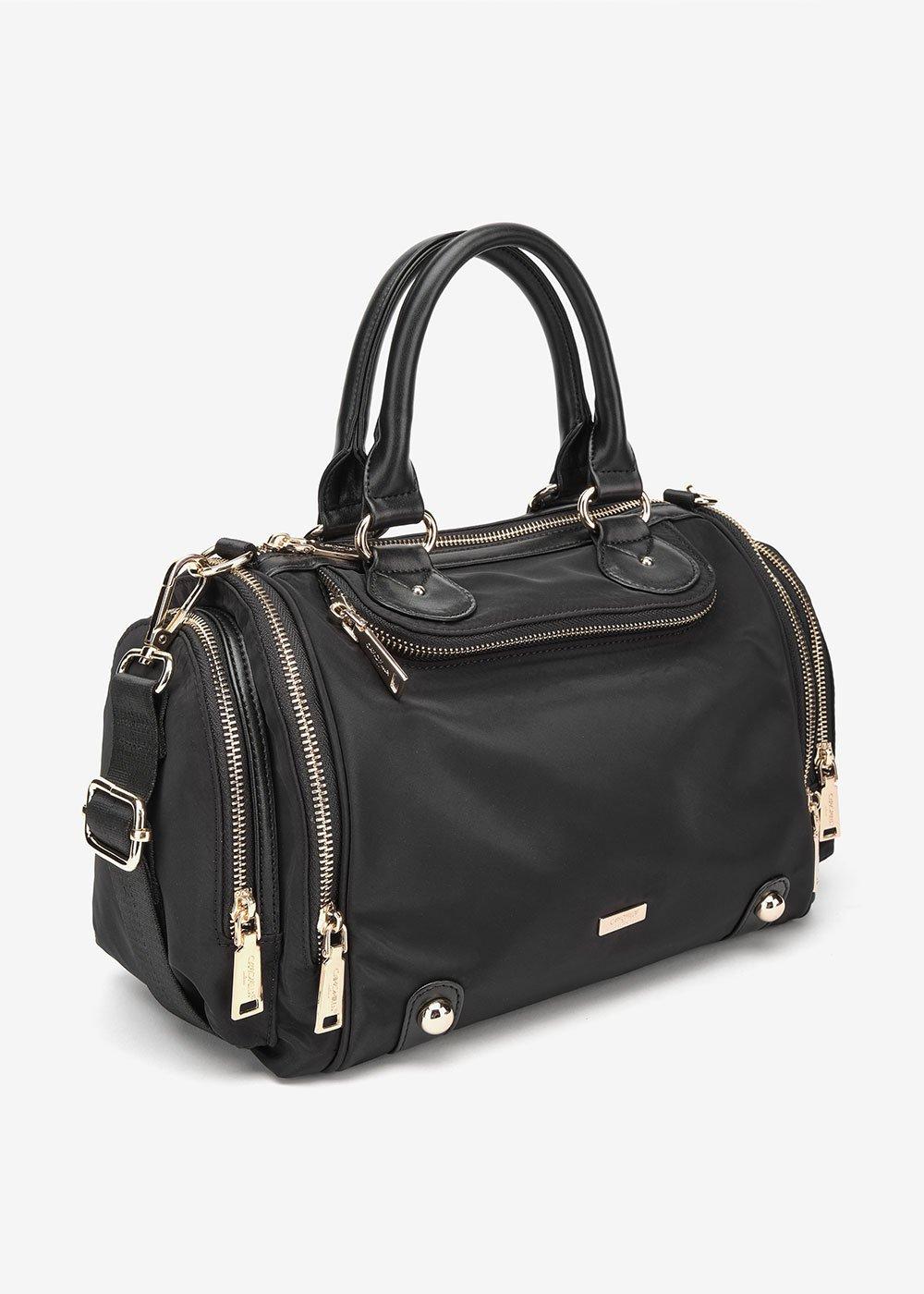 Betty nylon Boston bag - Black - Woman