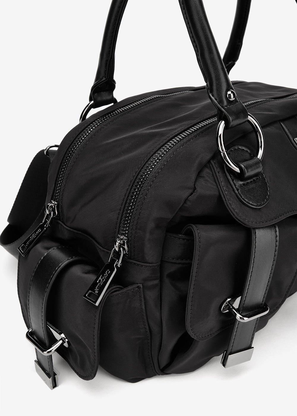 Bridget multi pocket bag - Black - Woman