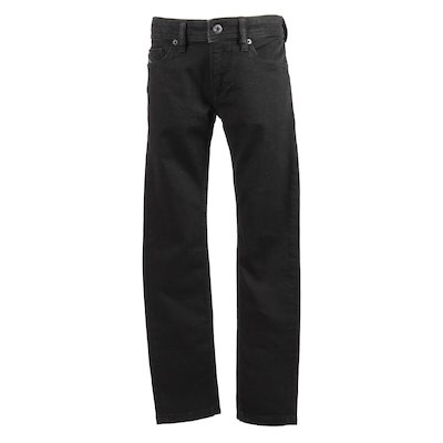 Black stretch denim cotton jeans