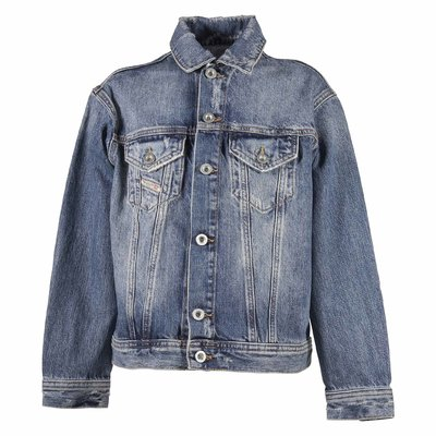 Blue cotton denim jacket