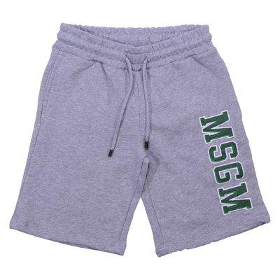 shorts grigi in cotone