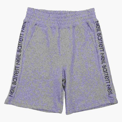 Grey cotton sweatshorts