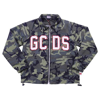 Water resistant camouflage jacket