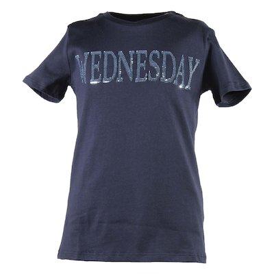 시퀸 코튼 저지 티셔츠