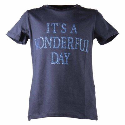 T-shirt blu navy