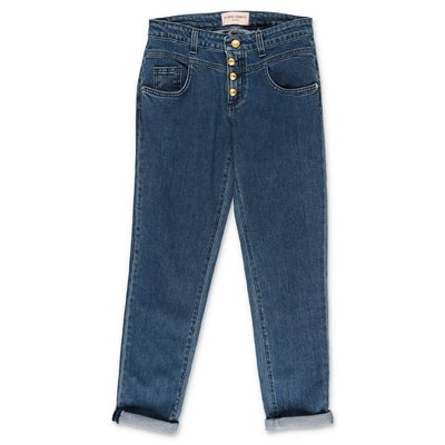 Alberta Ferretti blue stretch cotton denim jeans