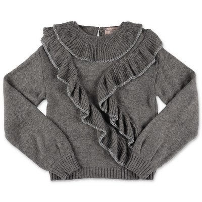 Alberta Ferretti grey knit jumper