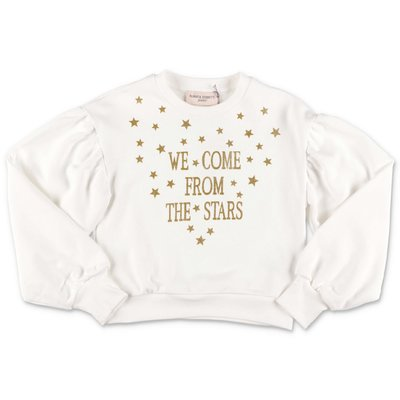 Alberta Ferretti white cotton sweatshirt