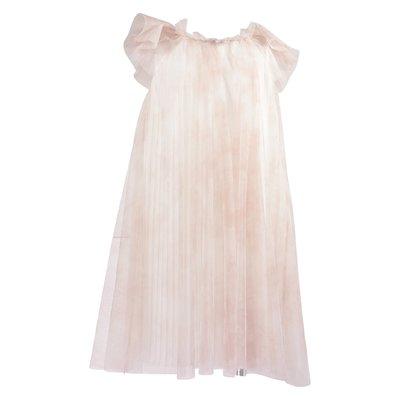 Pink tulle elegant dress