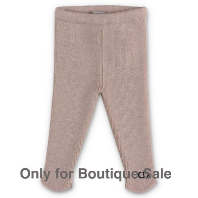 Baby Dior beige wool knit pants