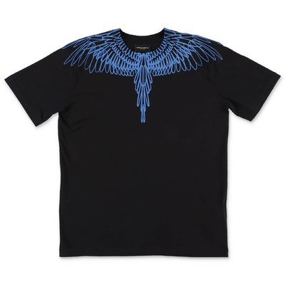 Marcelo Burlon black cotton jersey t-shirt