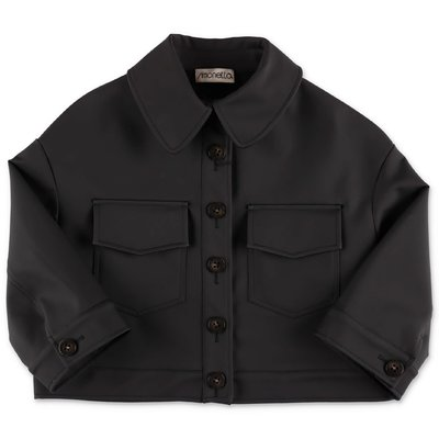 Simonetta black viscose jacket