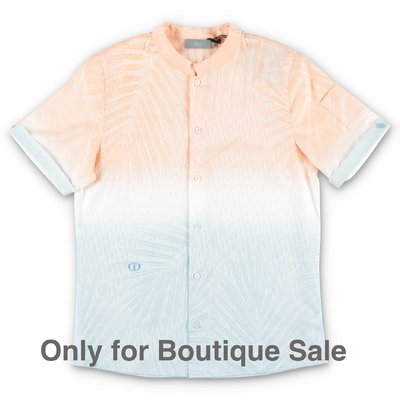 Baby Dior multicolor cotton poplin shirt