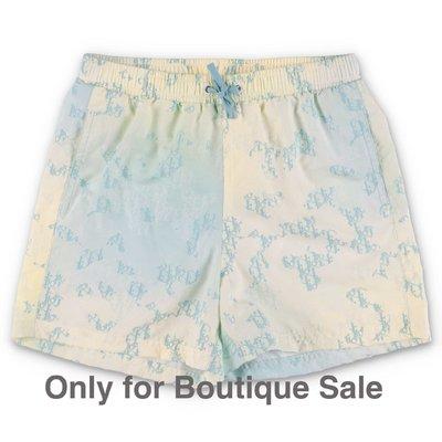 Baby Dior costume shorts da mare stampato in nylon
