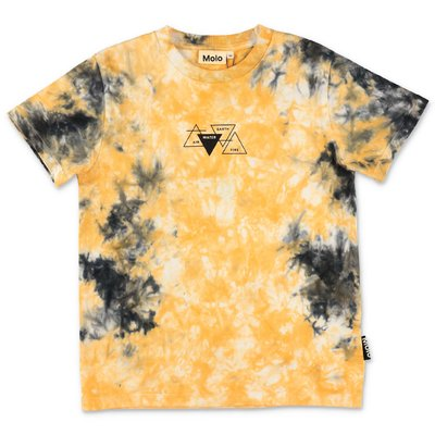 MOLO t-shirt stampata Roxo in jersey di cotone organico