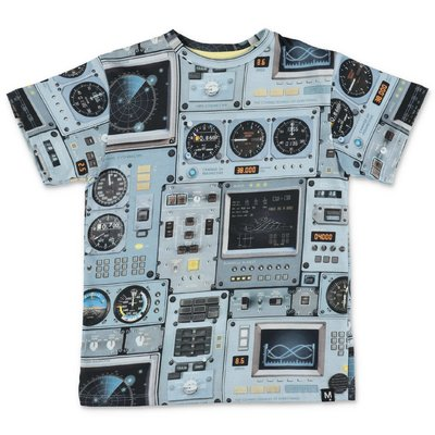 MOLO t-shirt stampata Rasmus in jersey di cotone organico