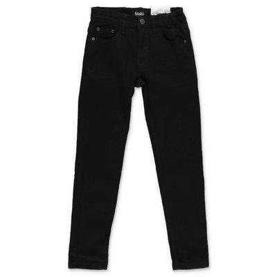 MOLO jeans neri Aksel in denim di cotone stretch